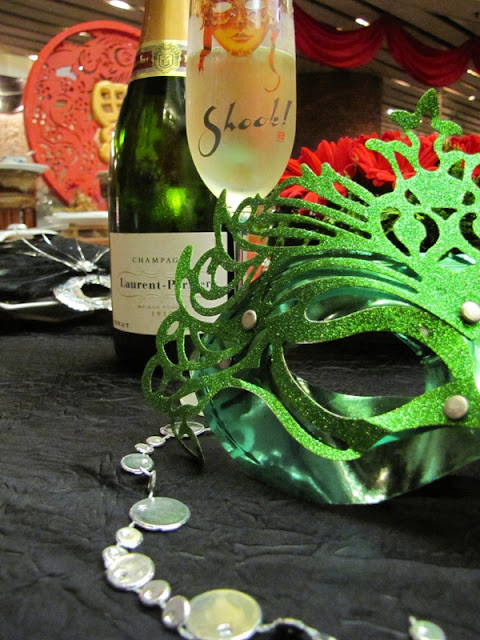Shook! Masquerade Brunch, bubbly, champagne, best Sunday brunches in Kuala Lump