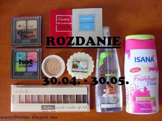 http://wmojejtoaletce.blogspot.com/2015/04/urodzinowe-rozdanie.html