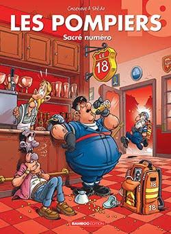 """Les POMPIERS T 18 """"Sacré numéro"""""""