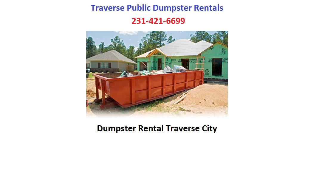 Traverse Public Dumpster Rentals