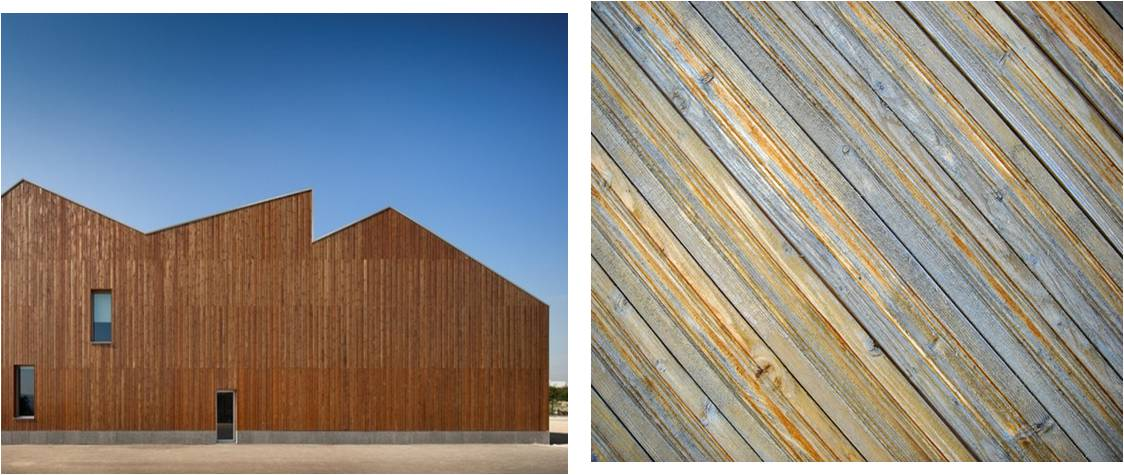 Vertical Wooden Cladding ~ Traditional cladding material timber