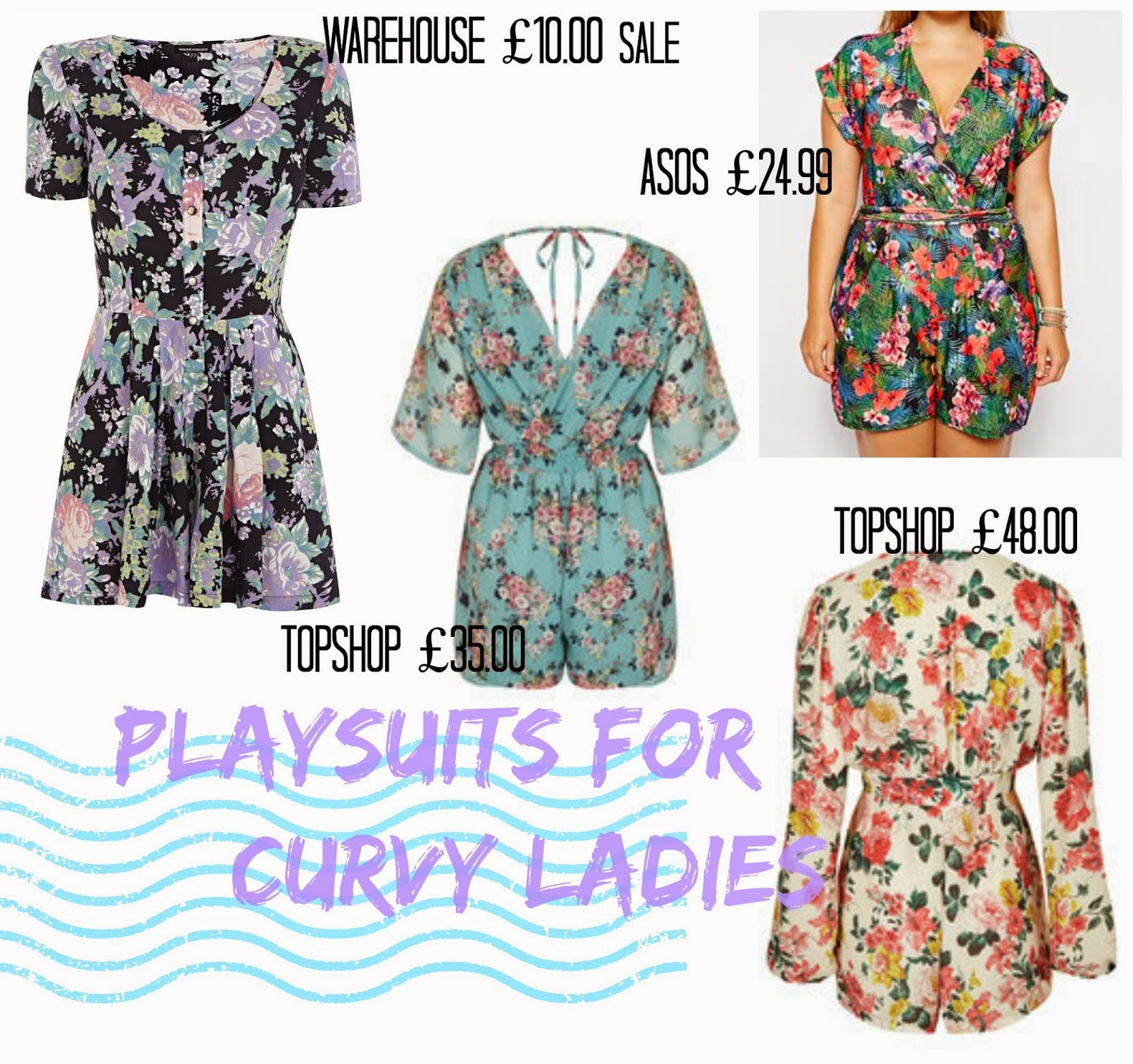 Playsuits for curvy ladies