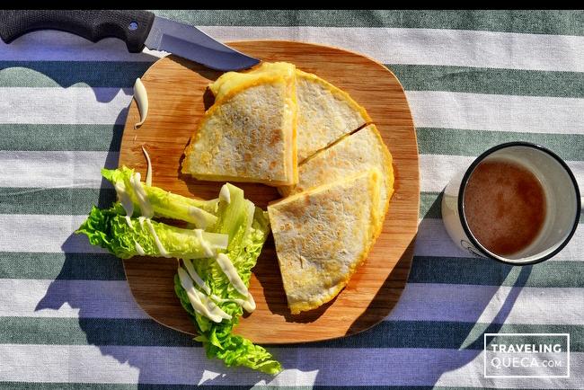 receta quesadilla de pechuga de pavo