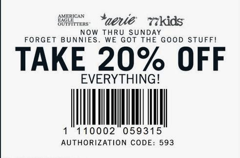 American eagle coupons 2018 june