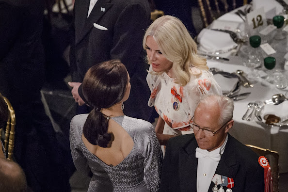 Crown Princess Mette-Marit of Norway and Crown Princess Mary of Denmark