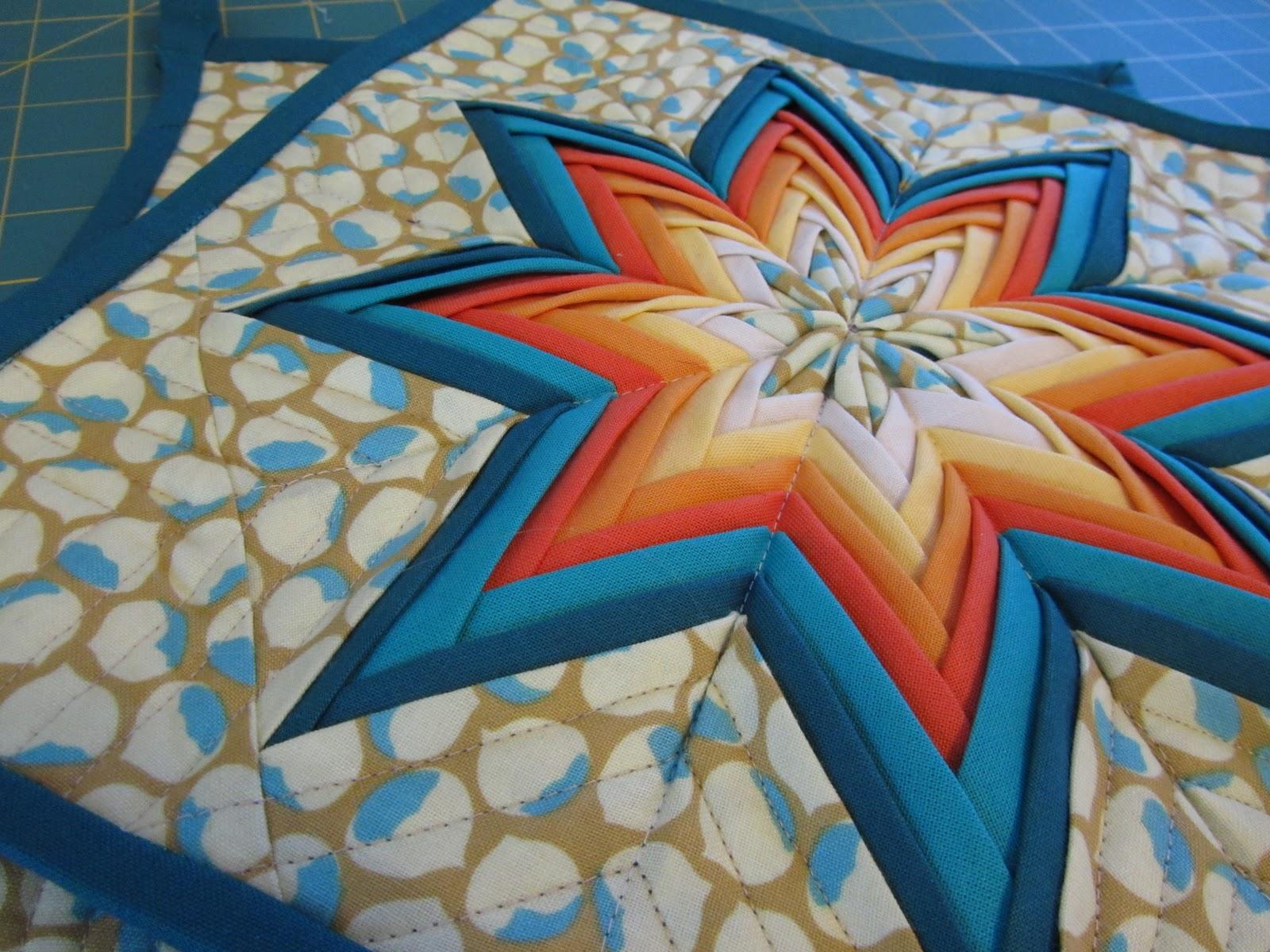 A Quilting Jewel: December 2011 : folded star quilt block - Adamdwight.com