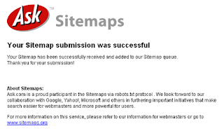 ask sitemap