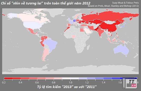 """Đông Âu, Trung Quốc, Việt Nam thuộc top đầu """"hoài cổ"""", vượt cả Trung Đông"""