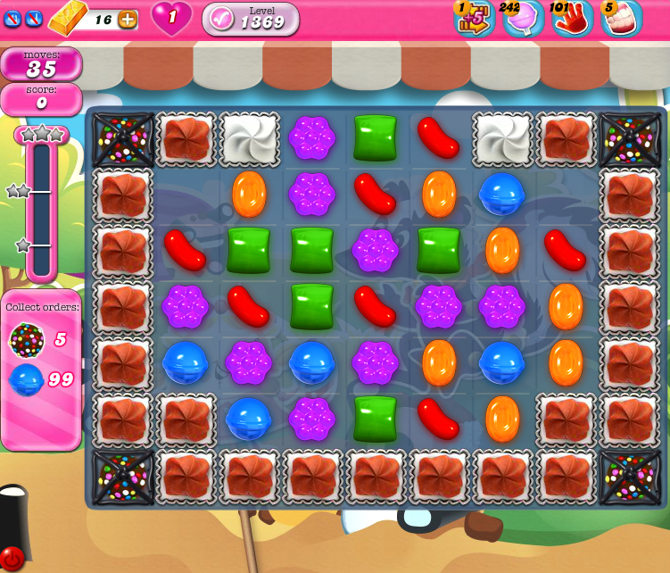 Candy Crush Saga 1369