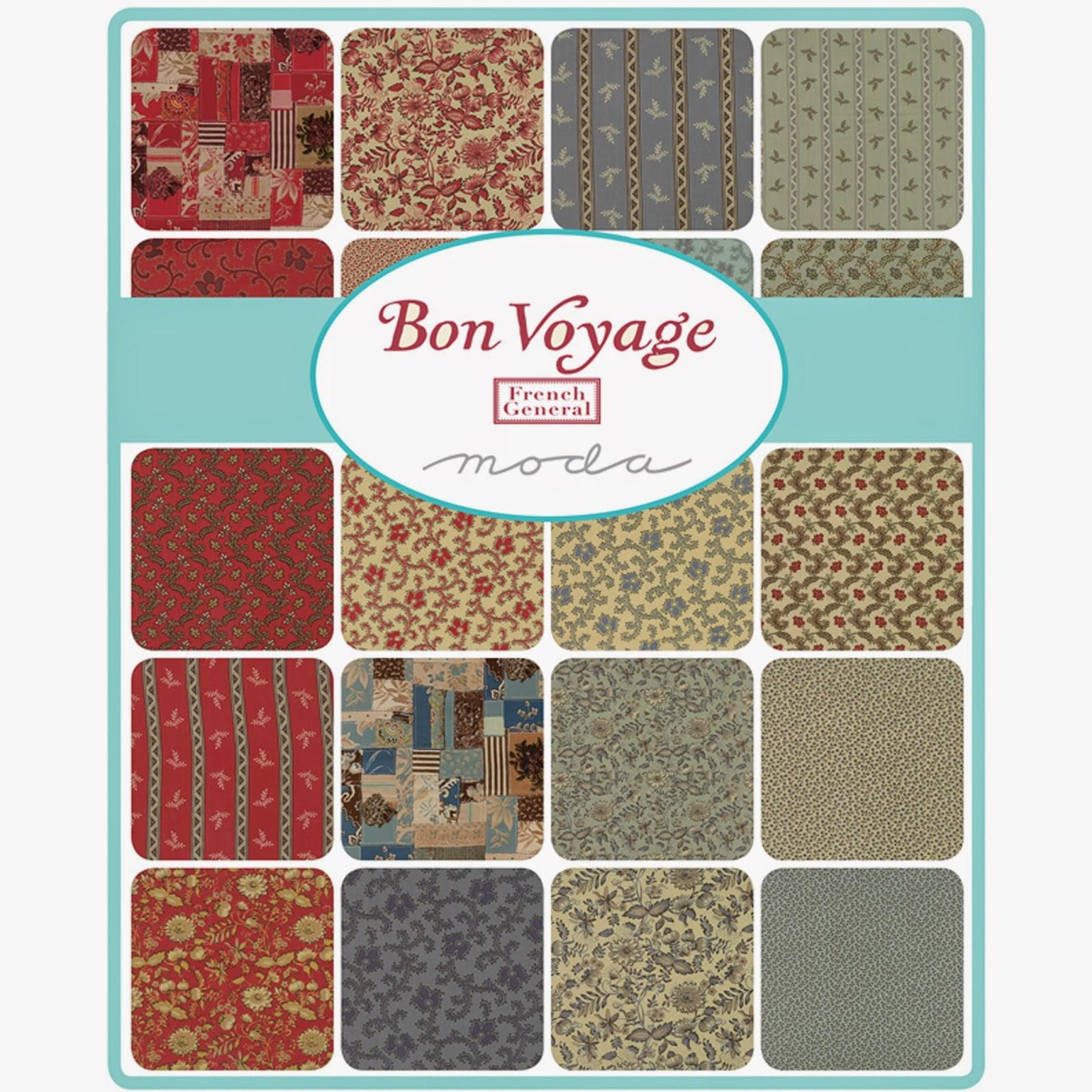 Moda BON VOYAGE Fabric by French General for Moda Fabrics