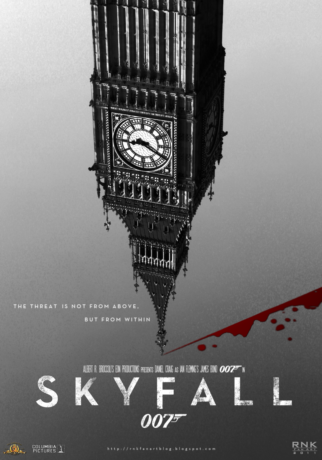 first poster for skyfall i went with a teaser poster concept that ...