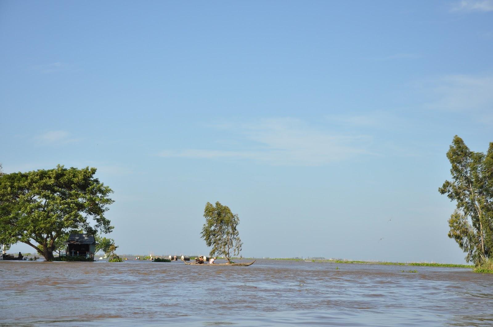 Cửa khẩu Bắc Đai thuộc địa bàn xã Nhơn Hội, huyện An Phú, tỉnh An Giang