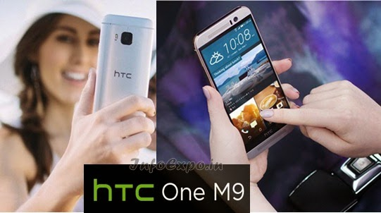HTC One M9:5 inch,Octa core 64-bit, Android Lollipop Smartphone Specs, Price