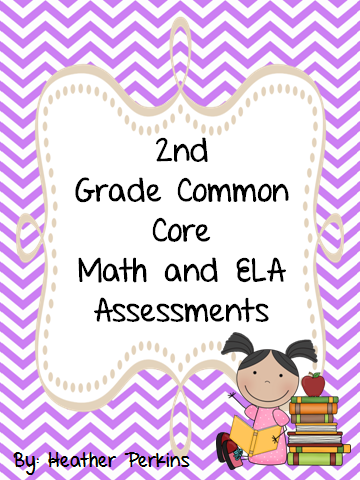 http://www.teacherspayteachers.com/Product/2nd-Grade-Common-Core-Math-and-ELA-Assessments-Mega-Pack-731291