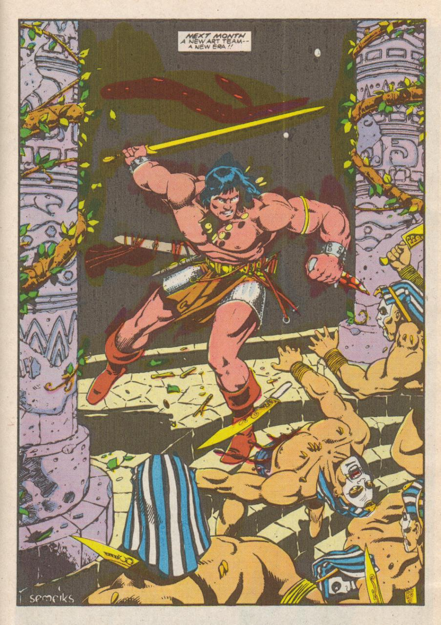 Conan the Barbarian (1970) Issue #190 #202 - English 24