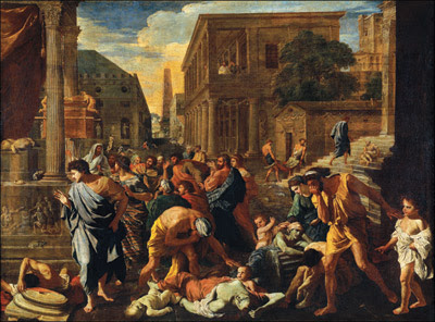 Nicolas Poussin - La peste d'Ashod, 1630