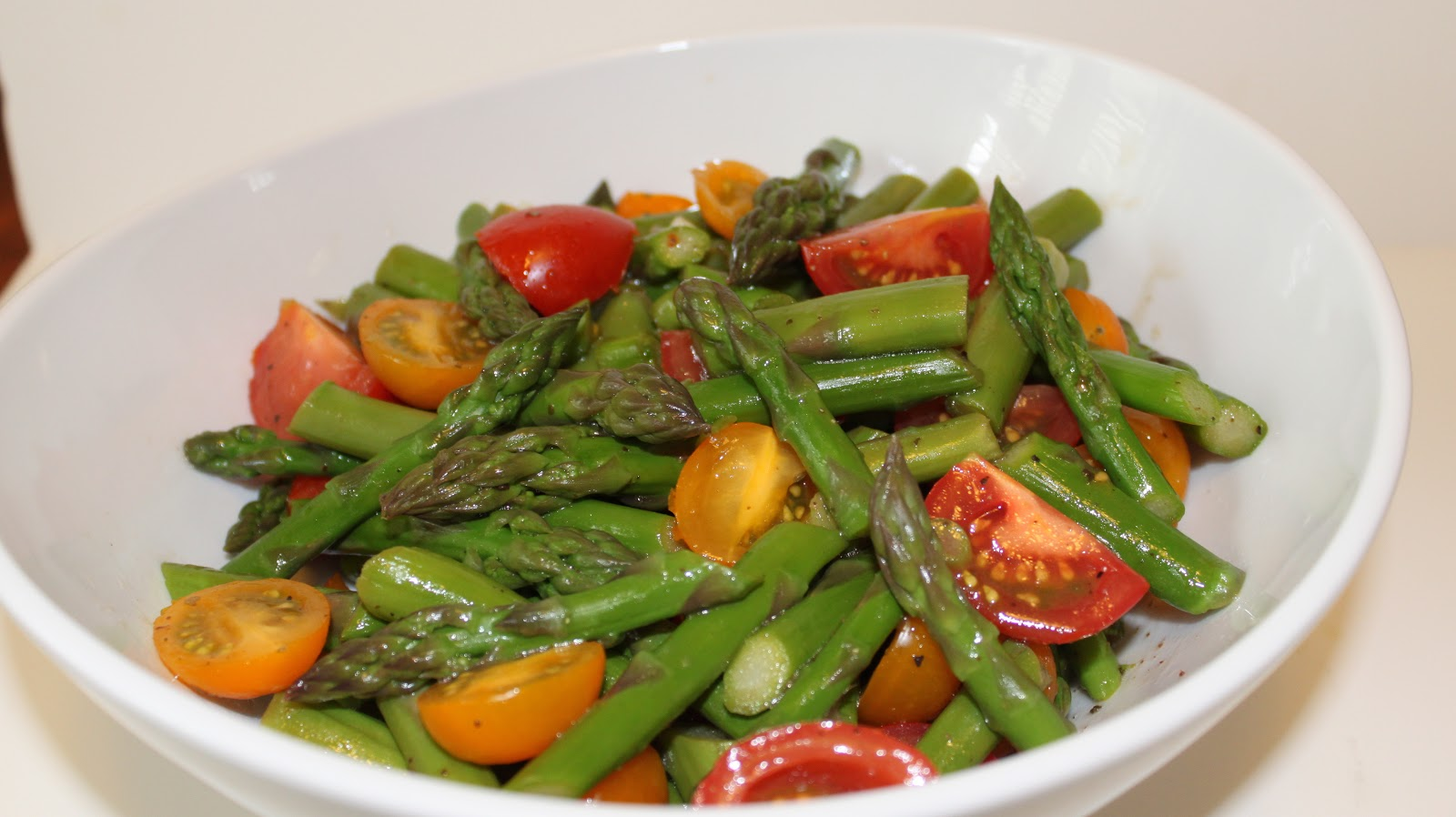 FROM A WRITER'S KITCHEN: Asparagus Salad