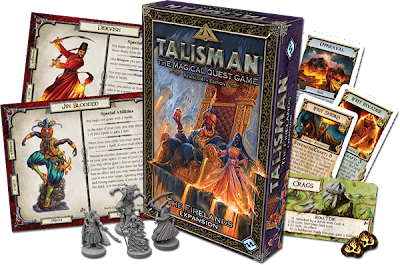 Talisman Firelands adventure
