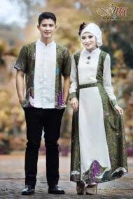 Gambar Baju Muslim Couple Terpopuler