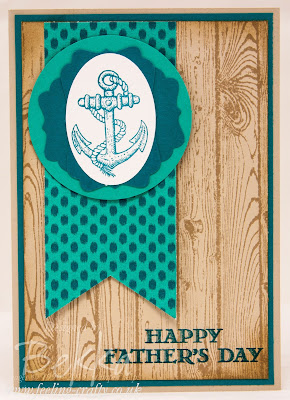 Father's Day Card Made Easy With Guy Greetings From Stampin' Up! UK Get it Here!