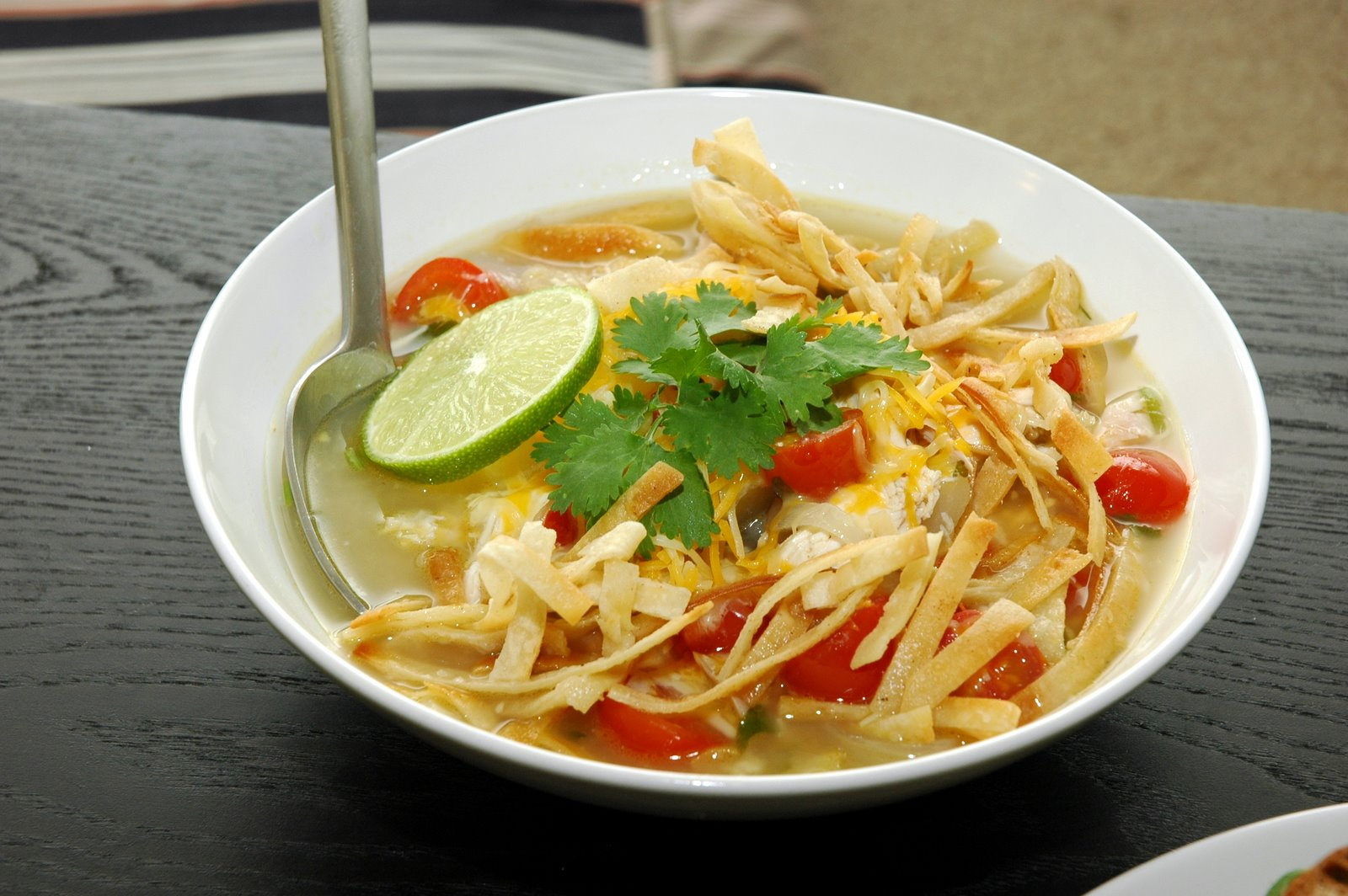 The Yogic Kitchen: Tortilla Soup