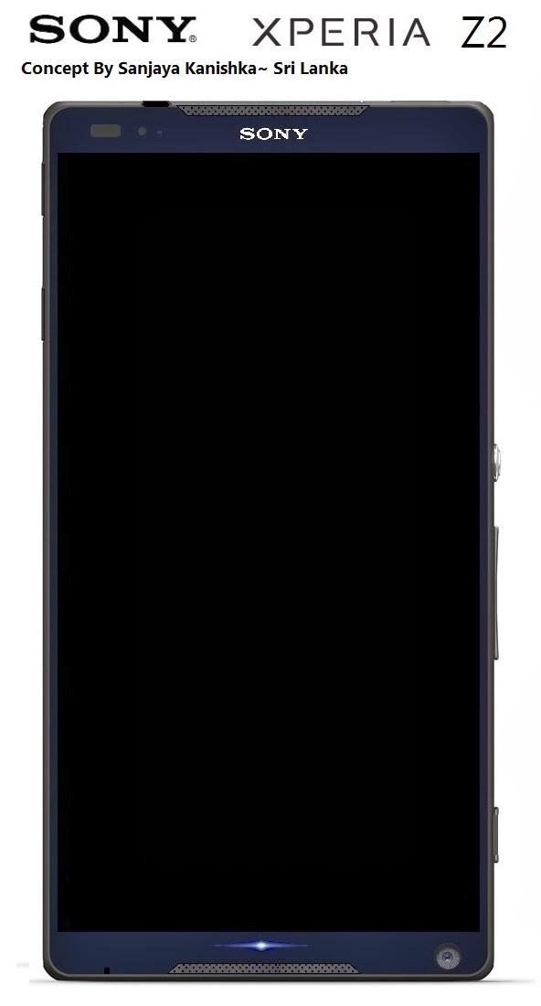 Mobilized Tech: Sony Xperia Z2 Concept
