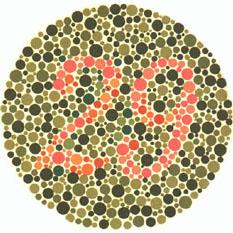 Prueba de daltonismo - Carta de Ishihara 4