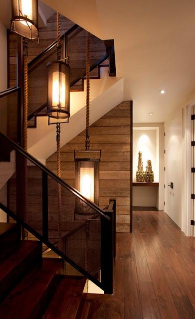 верёвка и канат в дизайне квартир