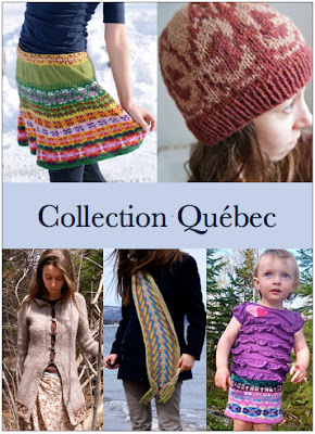 ebook de patrons de tricot Collection Québec par Maude Design