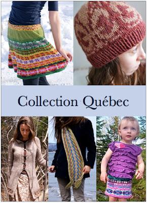 ebook de patrons de tricot Collection Québec par Maude Design