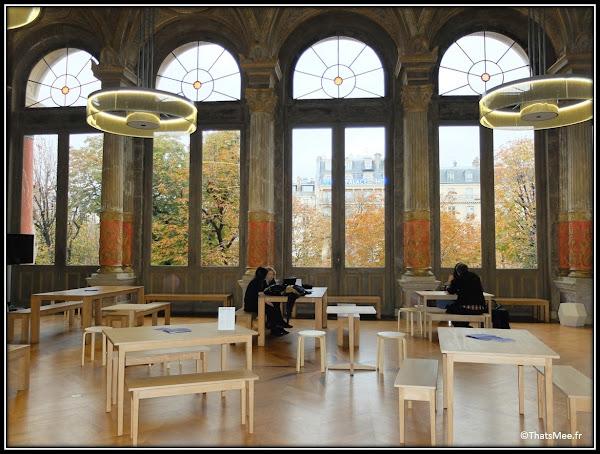 Bar du Foyer historique café Gaité Lyrique design musée des arts numériques