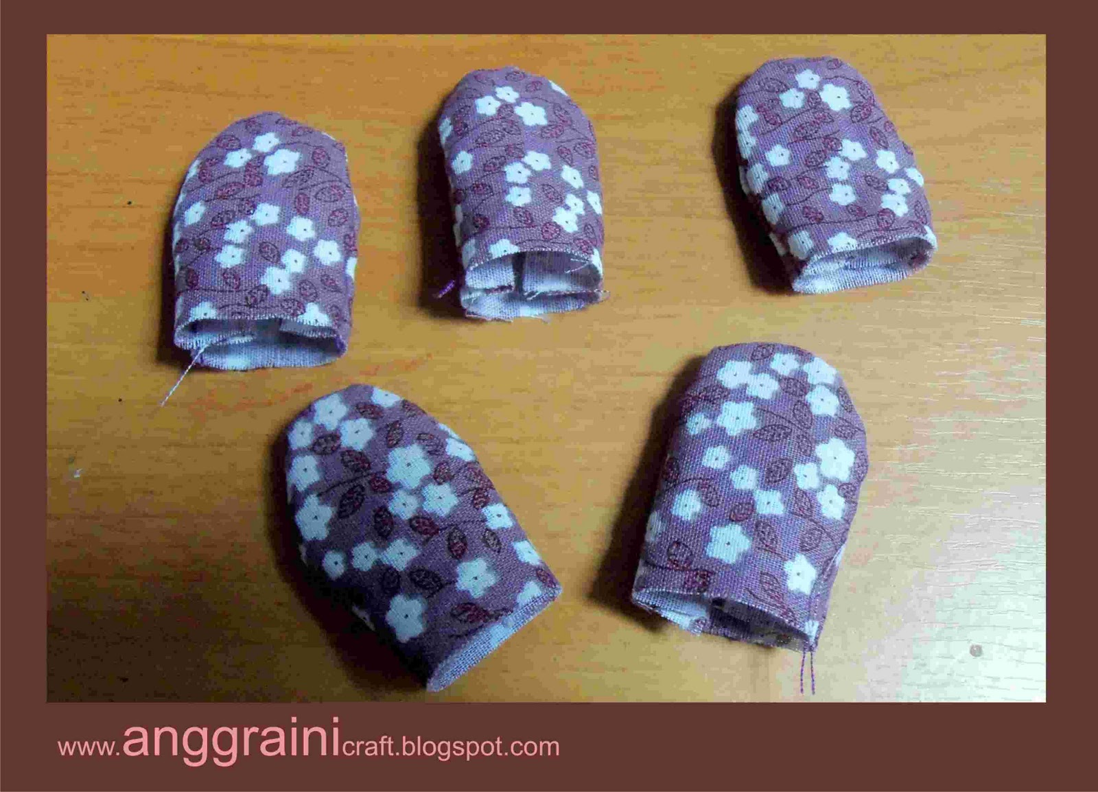 Anggraini Craft Tutorial Bunga Dari Kain Perca