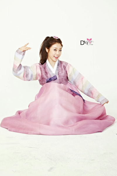 Girls Day Sojin Lunar 2014 Hanbok