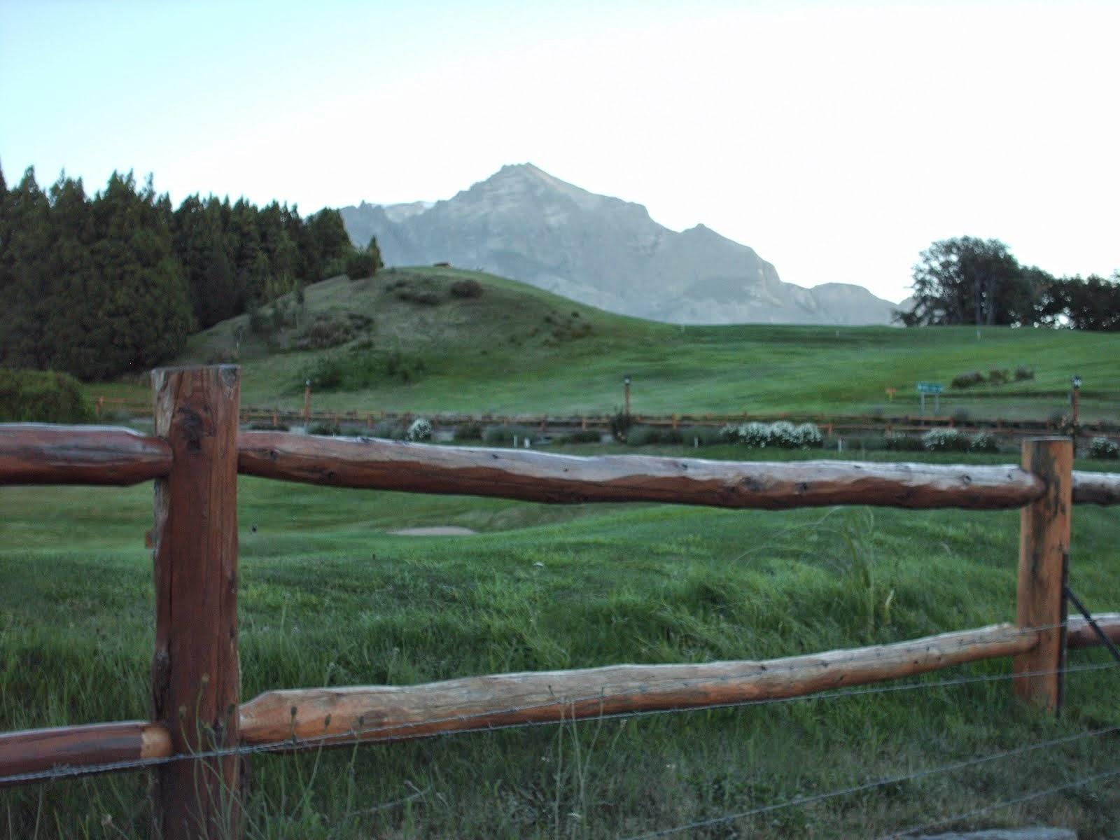paisaje en Bariloche
