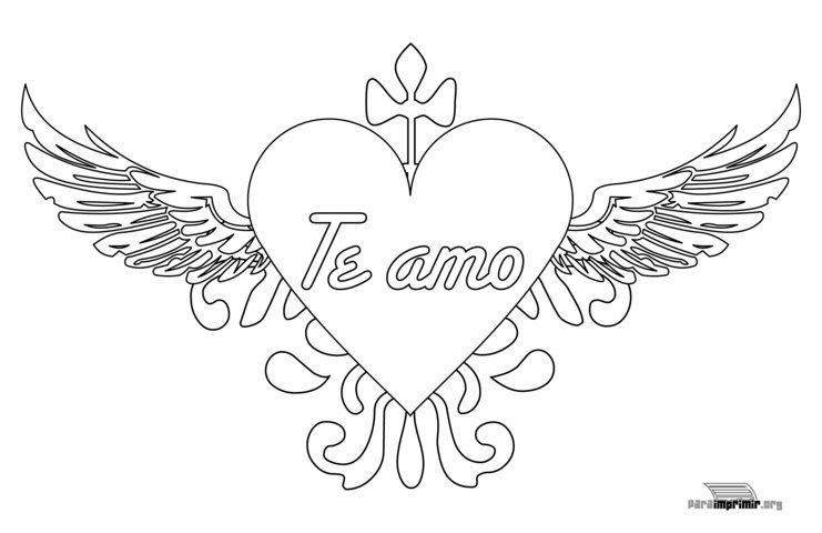 Blog MegaDiverso: Dibujos de corazones para colorear