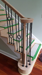 Staircase Treads, Posts, Railings n Balusters Renovation - Piscataway, NJ