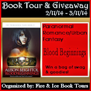 Blood Beginnings Tour & Giveaway