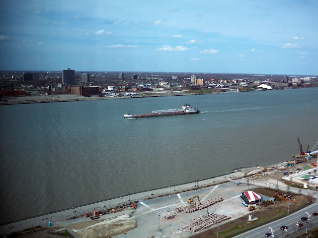 Detroit-River Freighter