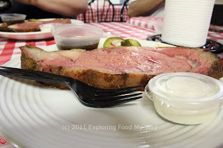 Smoked Prime Rib with Jus and Horseradish Sauce
