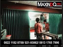 GAMBAR FOLDING GATE HARGA MURAH Maxindo Steel