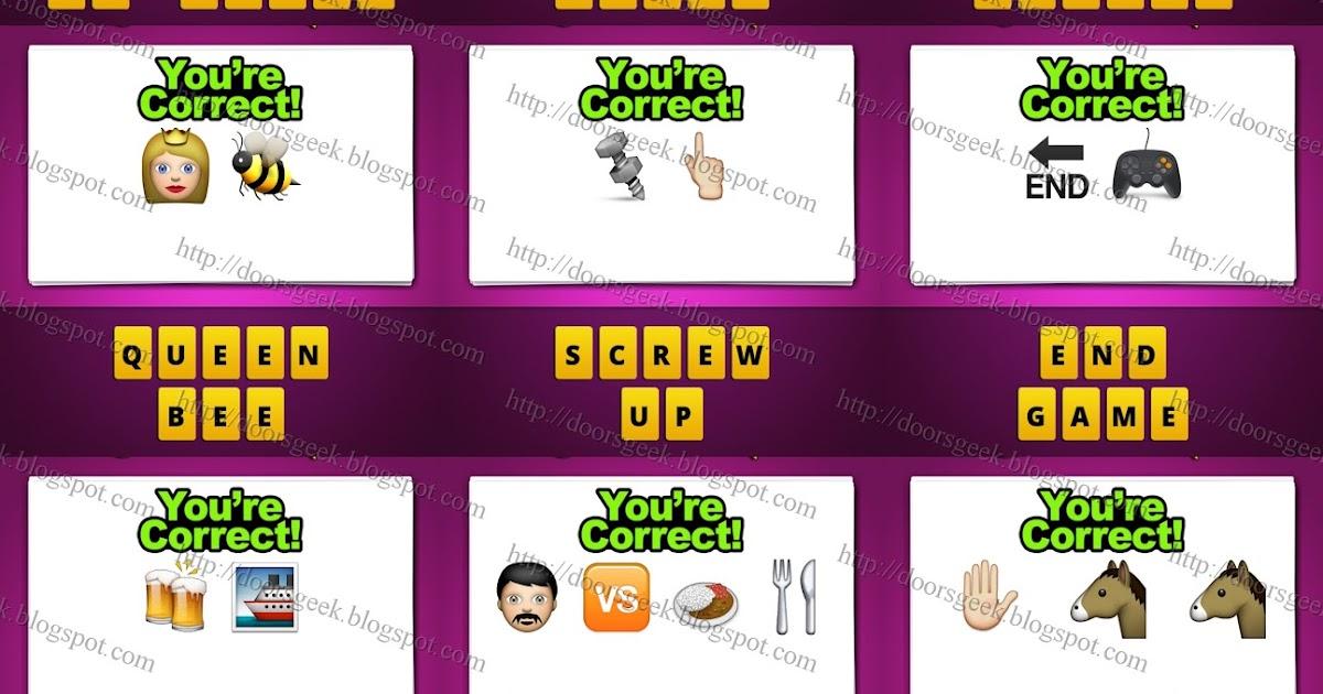 Guess The Emoji Level 72 Guess The Emoji [Level...