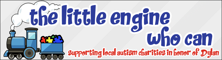 Little Engine Who Can - supporting local autism charities in honor of Dylan