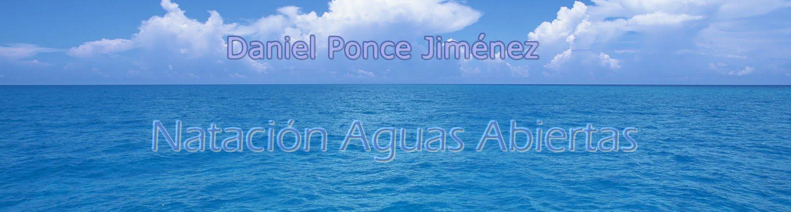 "Natación Aguas Abiertas "" Daniel Ponce Jiménez"""