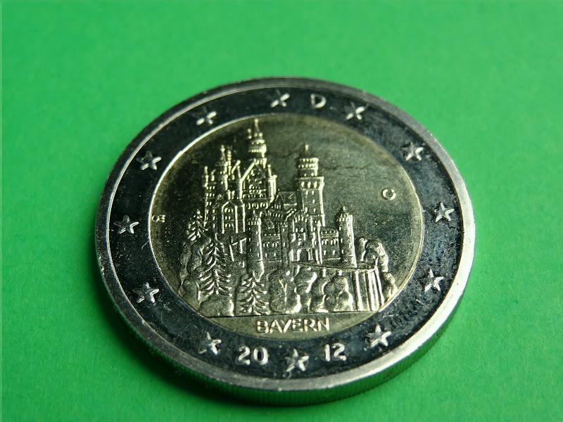 Bilder Bibliothek 2 Euro Münzen Deutschland 2012
