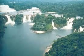 Guaira Falls, Brazil-Paraguay border.