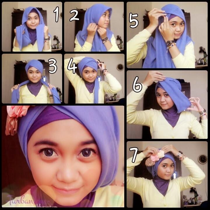 New Fashion Style 2014: Hijab Tutorial Segitiga