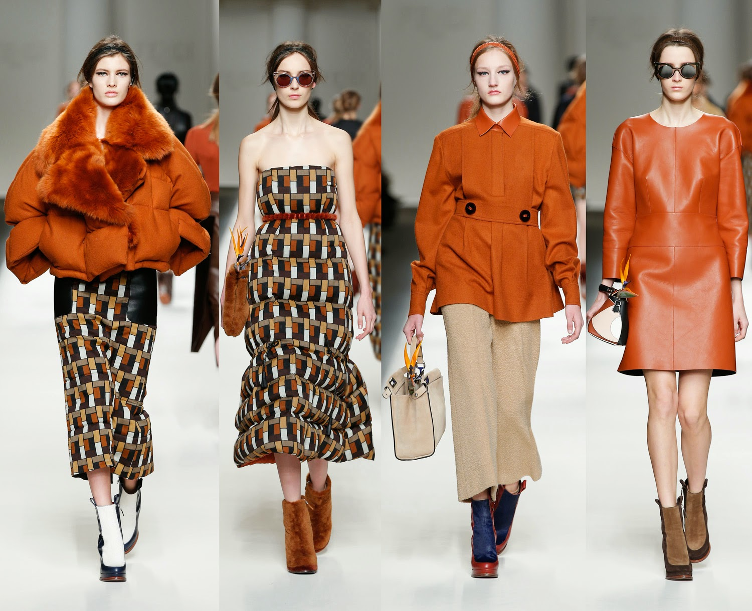 Fendi RTW Fall Winter 2015 Runway MFW