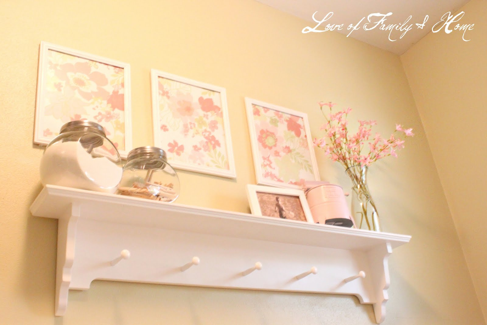 My Laundry Room Makeover - Love of Family & Home
