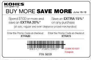 Kohls coupons 15 percent off