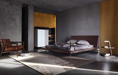 dormitorio matrimonial minimalista